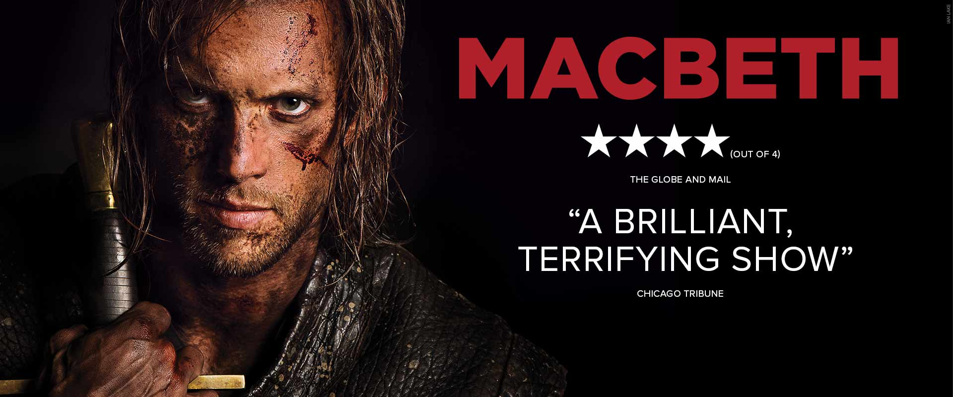 Publicity image from Macbeth