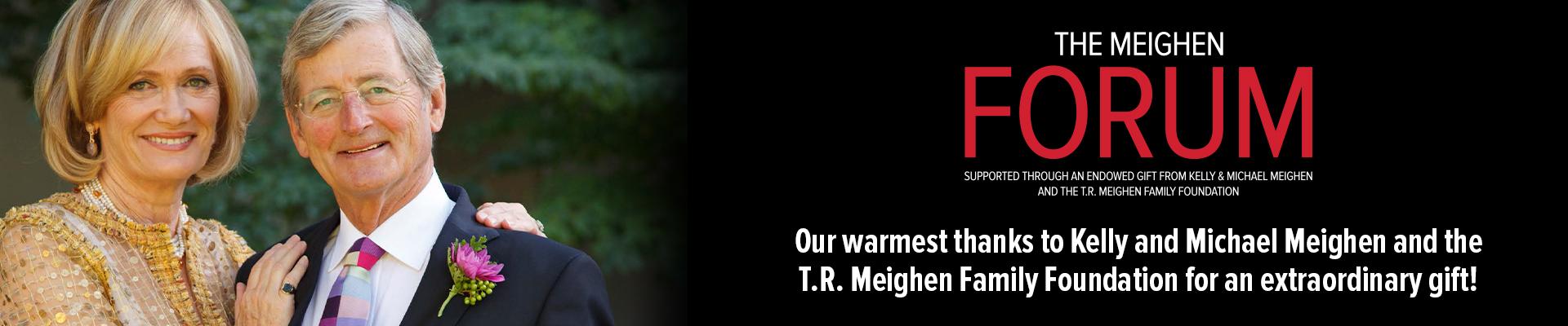 Announcement of The Meighen Forum