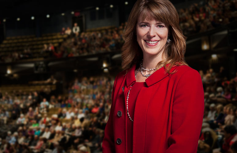 Executive Director Anita Gaffney at the Festival Theatre