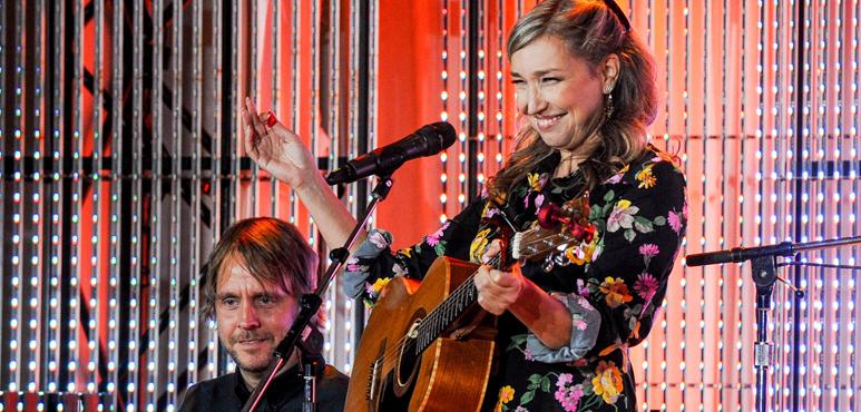 Dayna Manning and Stephen Szczesniak at the 2018 Stratford Festival Gala. Photo by George Pimentel