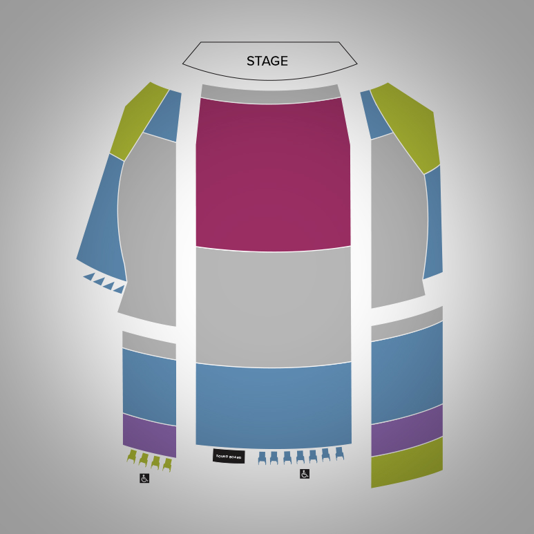 Avon Theatre Seat Map