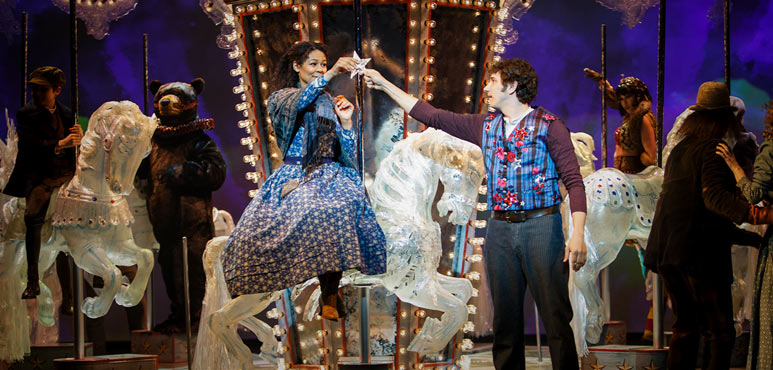 Production photo from Carousel