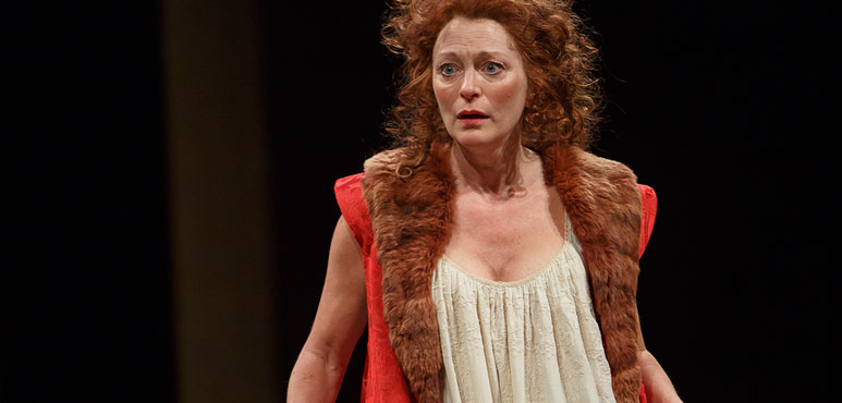 Brigit Wilson as Dol Common in The Alchemist. Photography by David Hou.