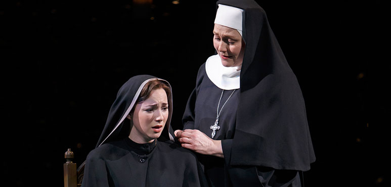 Production photo from The Sound of Music