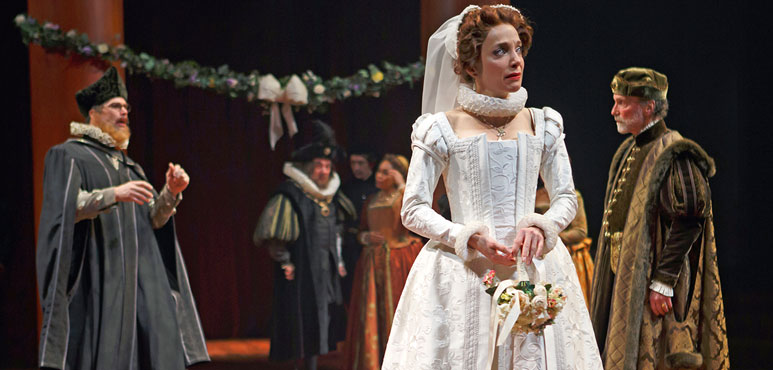 Production photo from The Taming of the Shrew