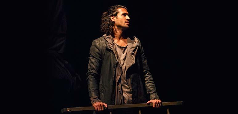 Saamer Usmani as Achates. Photography by David Hou.