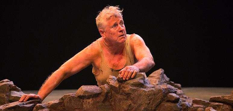 Joseph Ziegler as Timon. Photography by Cylla von Tiedemann.