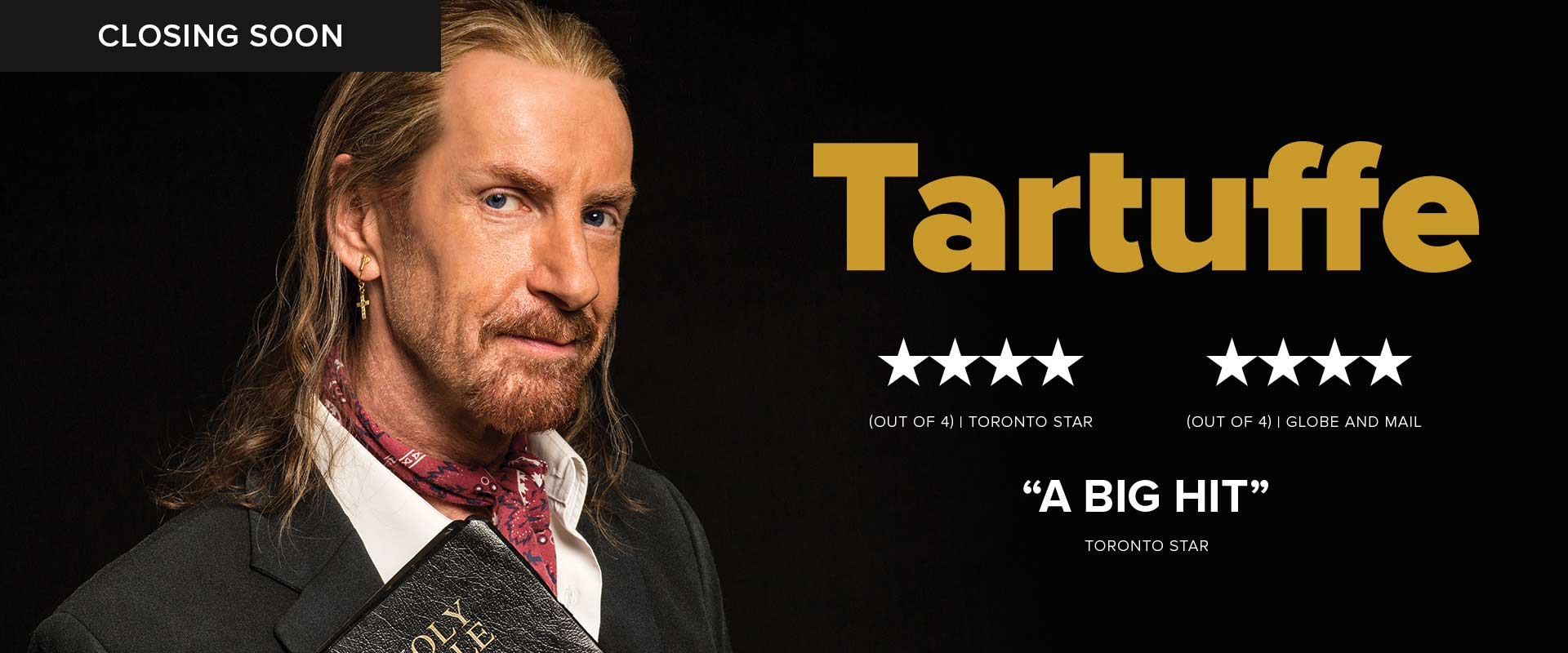 Publicity image from Tartuffe featuring Tom Rooney