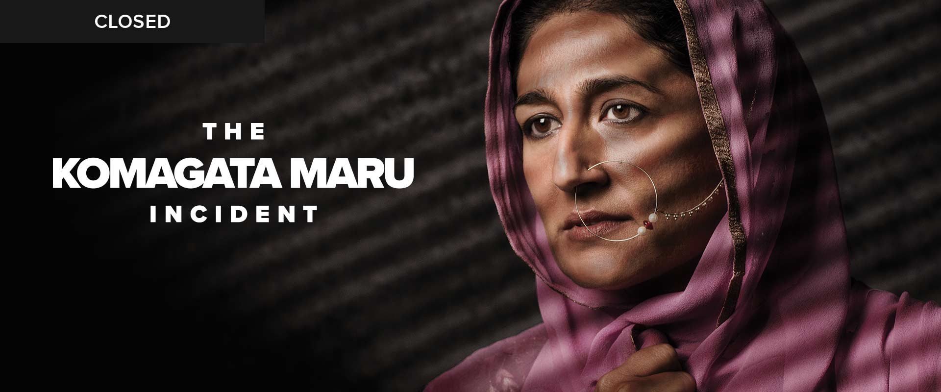 Publicity image from The Komagata Maru Incident featuring Kiran Ahluwalia