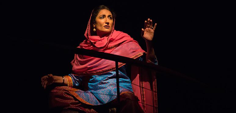 Kiran Ahluwalia as Woman. Photography by Cylla von Tiedemann.