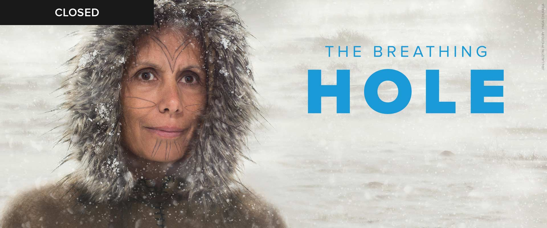 Publicity image from The Breathing Hole featuring Jani Lauzon
