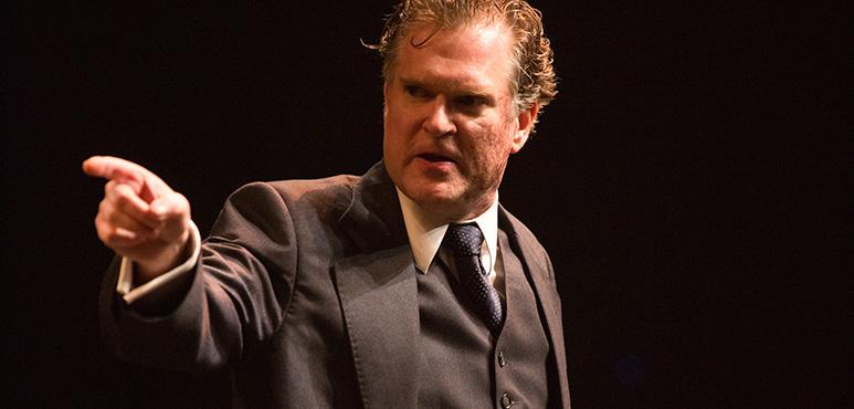Ben Carlson as De Flores. Photography by Cylla von Tiedemann.