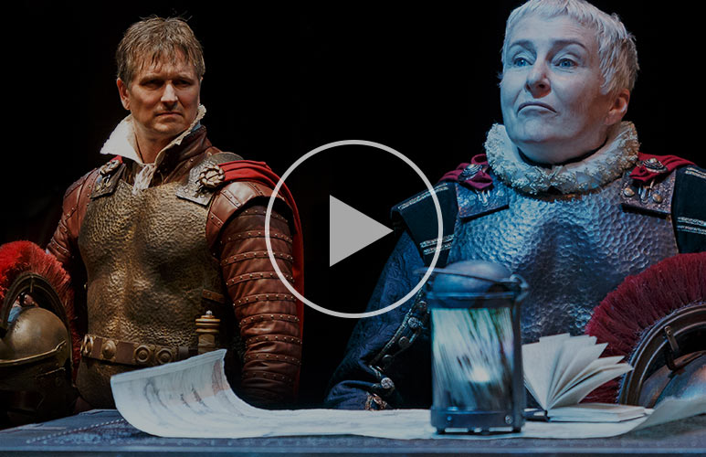 Check out the official trailer for Julius Caesar.