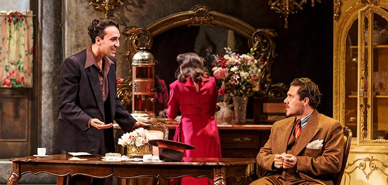 Farhang Ghajar (left) as Federico and Emilio Vieira as Peppe
