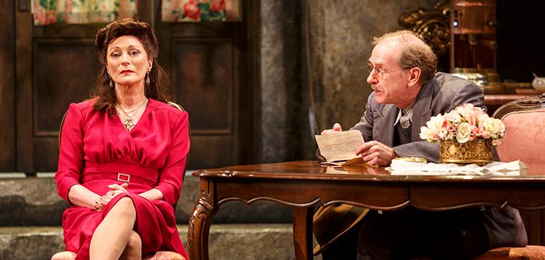 Brigit Wilson as Amalia and Tom Rooney as Riccardo Spasiano. Photography by David Hou.