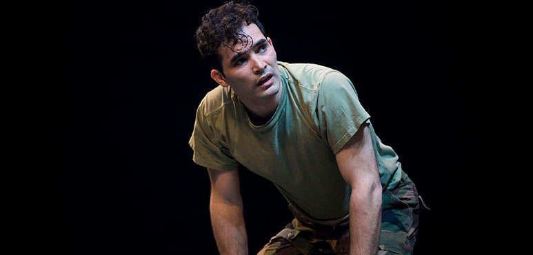 Johnathan Sousa as Cassio in Othello. Photography by Chris Young.