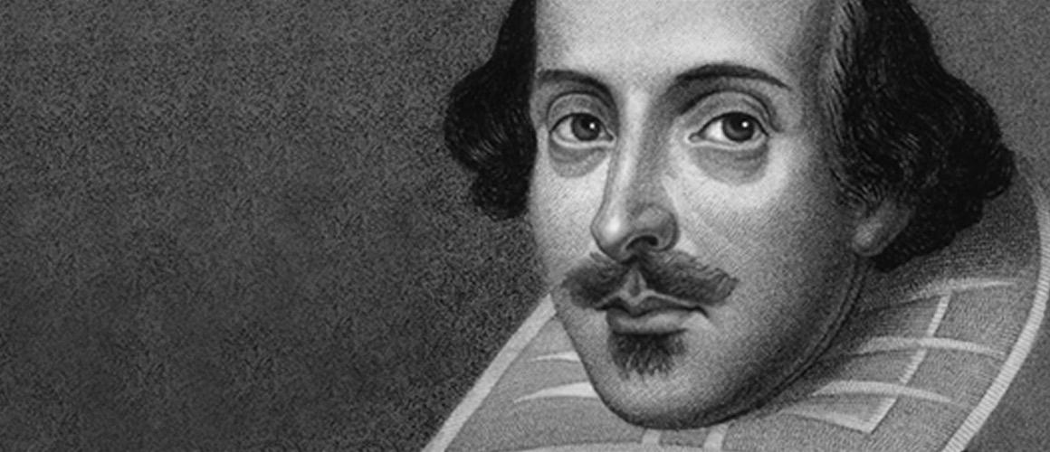 Photograph of William Shakespeare.