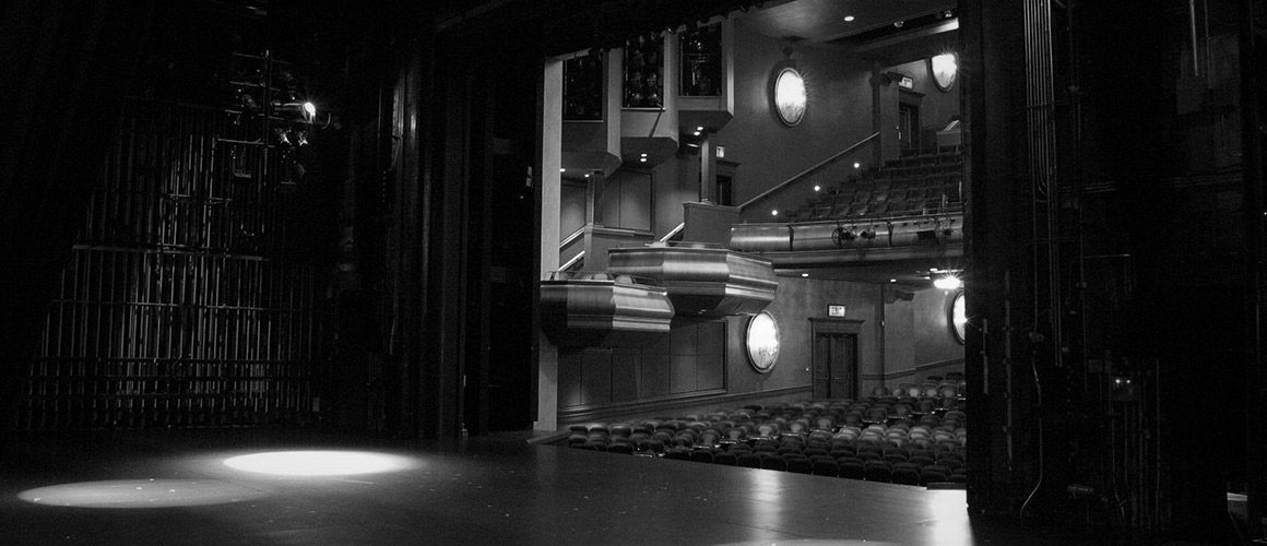 Photograph of the Avon Theatre from backstage