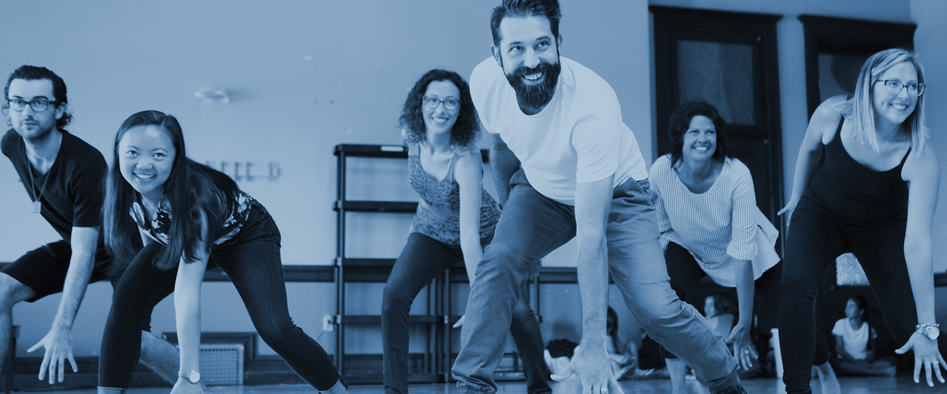 Publicity photo from Improv Families