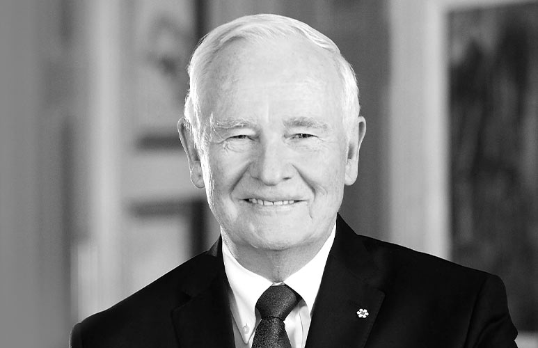 Trust: In Conversation with Rt. Hon. David Johnston