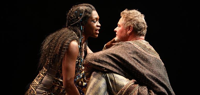 Production photo from Antony and Cleopatra