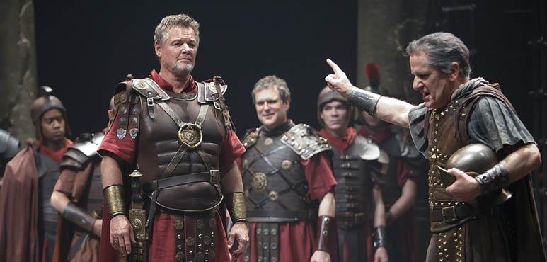 Production photo from Antony & Cleopatra