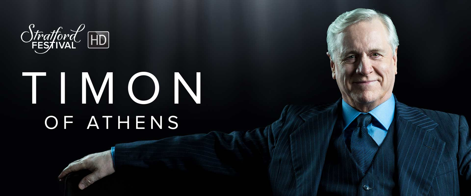 Publicity photo from Timon of Athens featuring Joseph Ziegler.